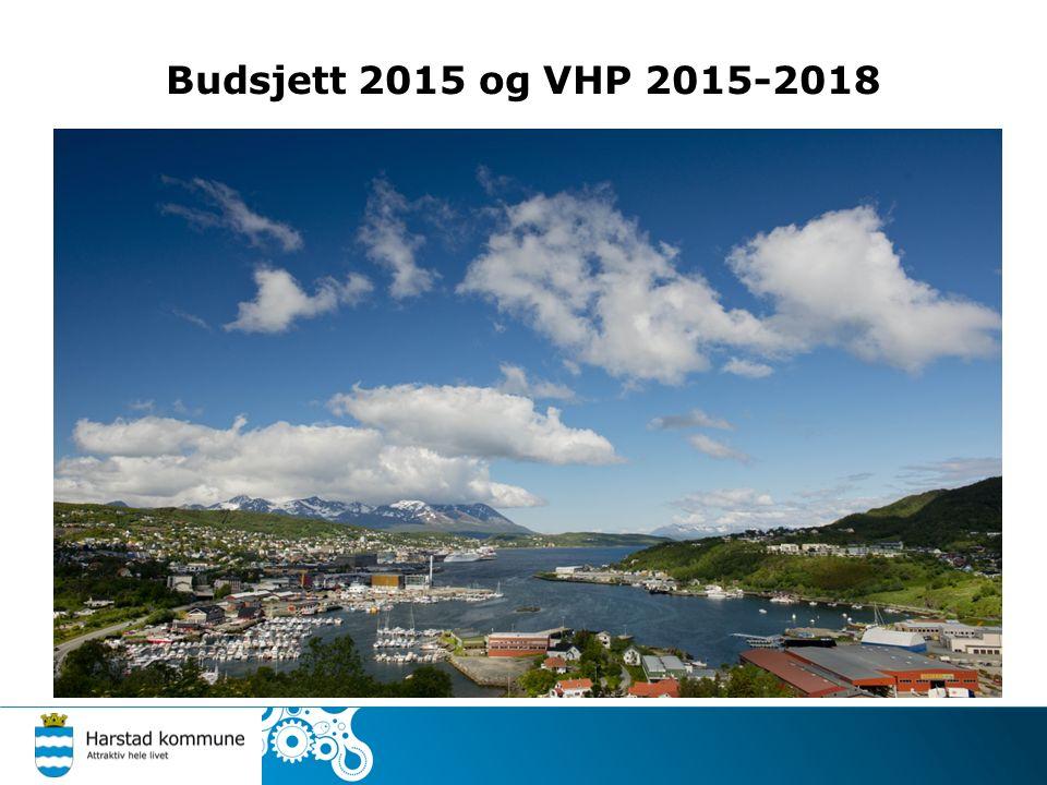 Budsjett 2015 og VHP 2015-2018