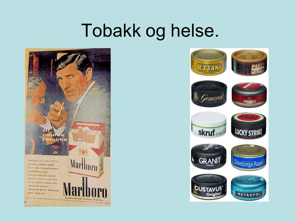 Tobakk og helse.