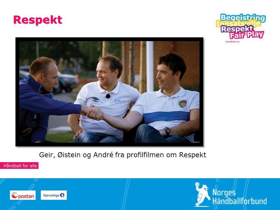 19 Respekt Geir, Øistein og André fra profilfilmen om Respekt