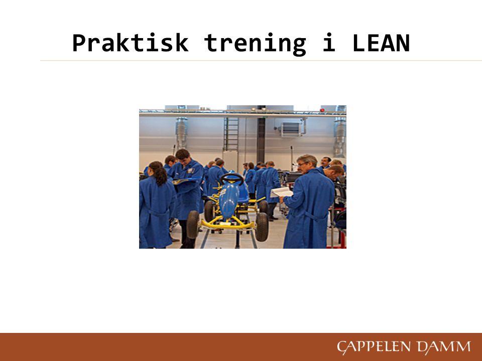 Praktisk trening i LEAN