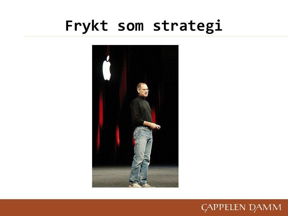 Frykt som strategi