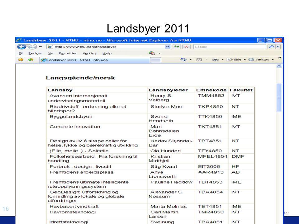 16 EiT 2006/2007 Eksperter i team Landsbyer 2011