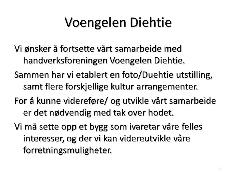 Voengelen Diehtie Vi ønsker å fortsette vårt samarbeide med handverksforeningen Voengelen Diehtie.