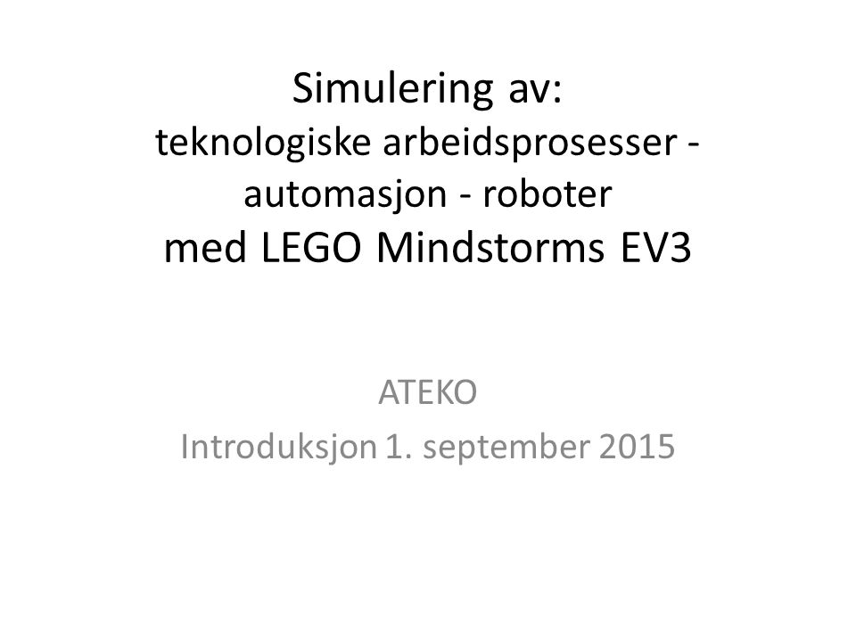Mindstorms RCX (1998) – NXT (2006) – EV3 (2013) – The Braitenberg Brick system, designed by Fred Martin, allows children to build robots to explore the concepts in Valentino Braitenberg's Vehicles. – The Programmable Brick is a tiny, portable computer embedded inside a LEGO brick,