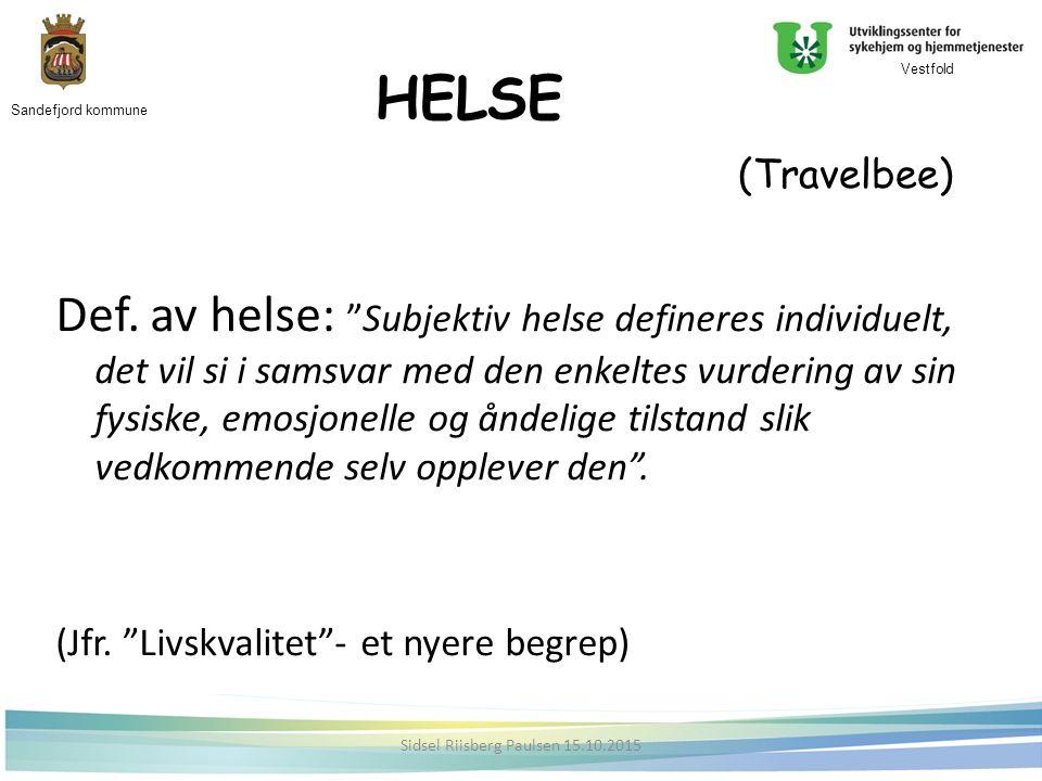HELSE (Travelbee) Def.