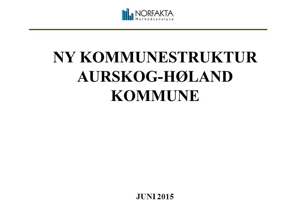 NY KOMMUNESTRUKTUR AURSKOG-HØLAND KOMMUNE JUNI 2015