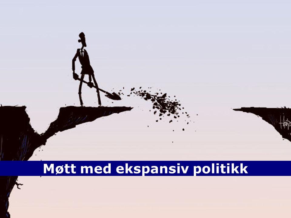 4 TOPTOP POL OPP NOR ENDPOLOPPNOREND 25. september 2016 Møtt med ekspansiv politikk