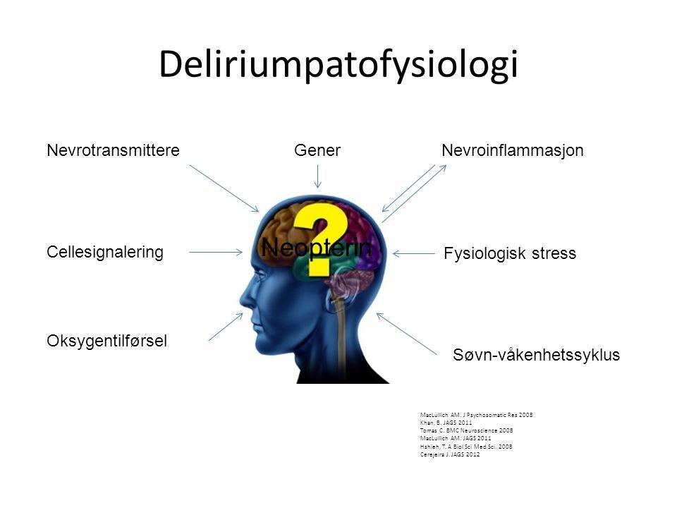 Deliriumpatofysiologi MacLullich AM.J Psychosomatic Res 2008 Khan, B.