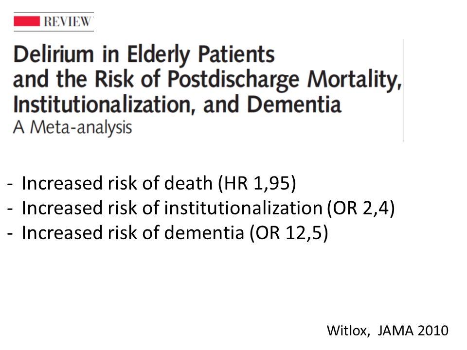Deliriumdiagnostikk I forskning: CAM, MDAS og/eller DRS-R98 I klinisk arbeid: ??