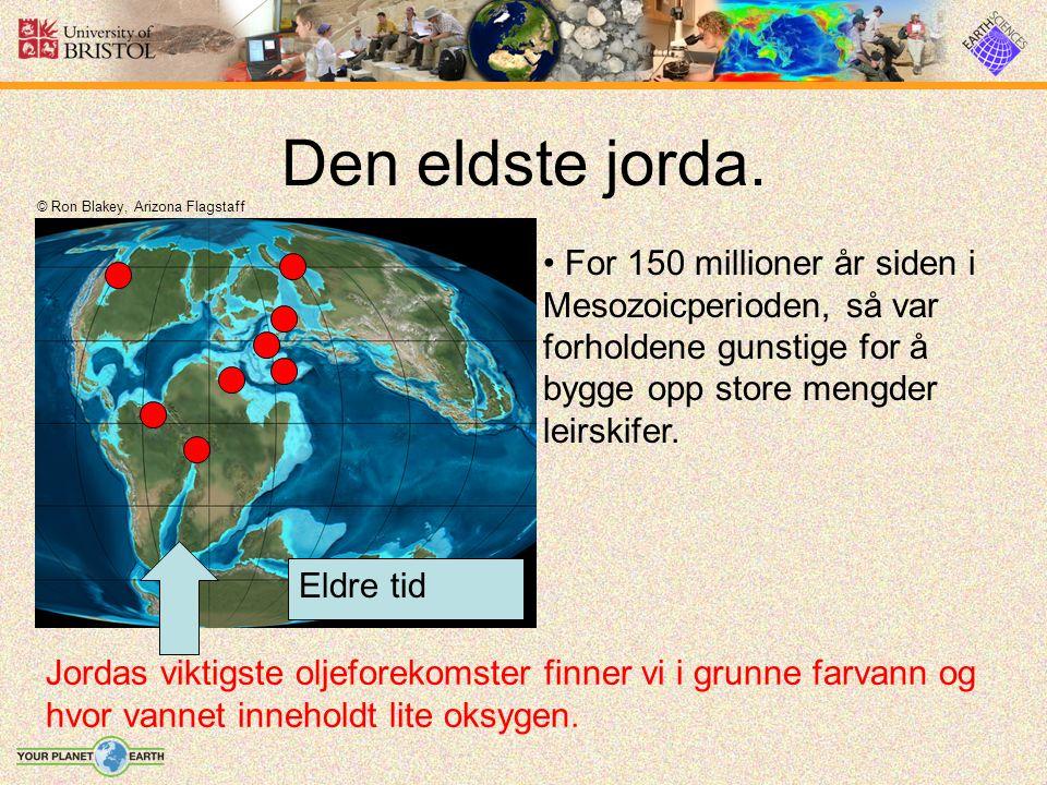 Den eldste jorda.
