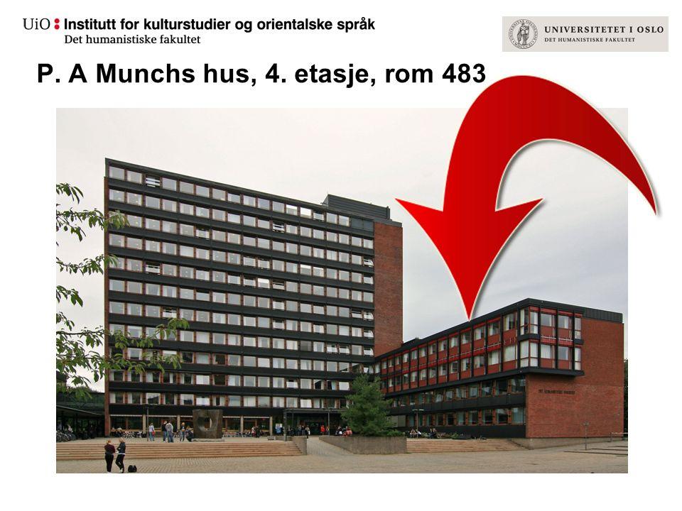 P. A Munchs hus, 4. etasje, rom 483