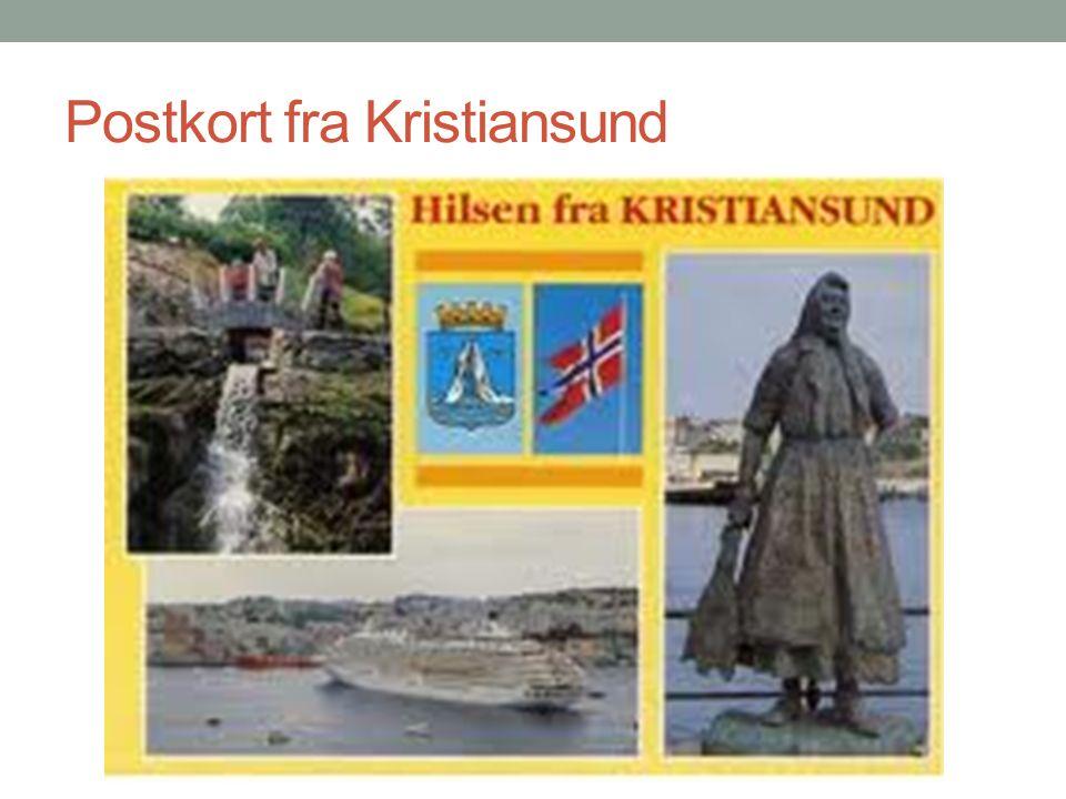 Postkort fra Kristiansund