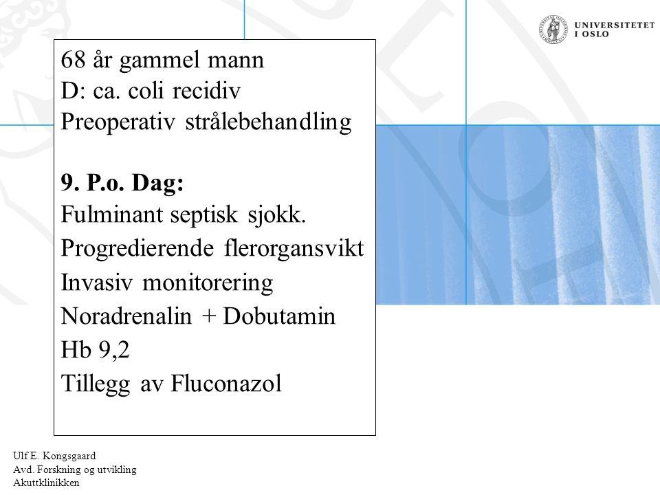 Ulf E.Kongsgaard Radiumhospitalet 1-3.