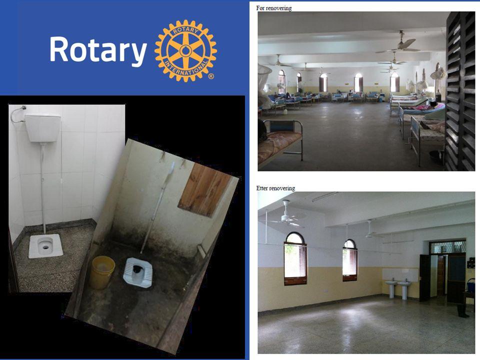Før renovering Etter renovering