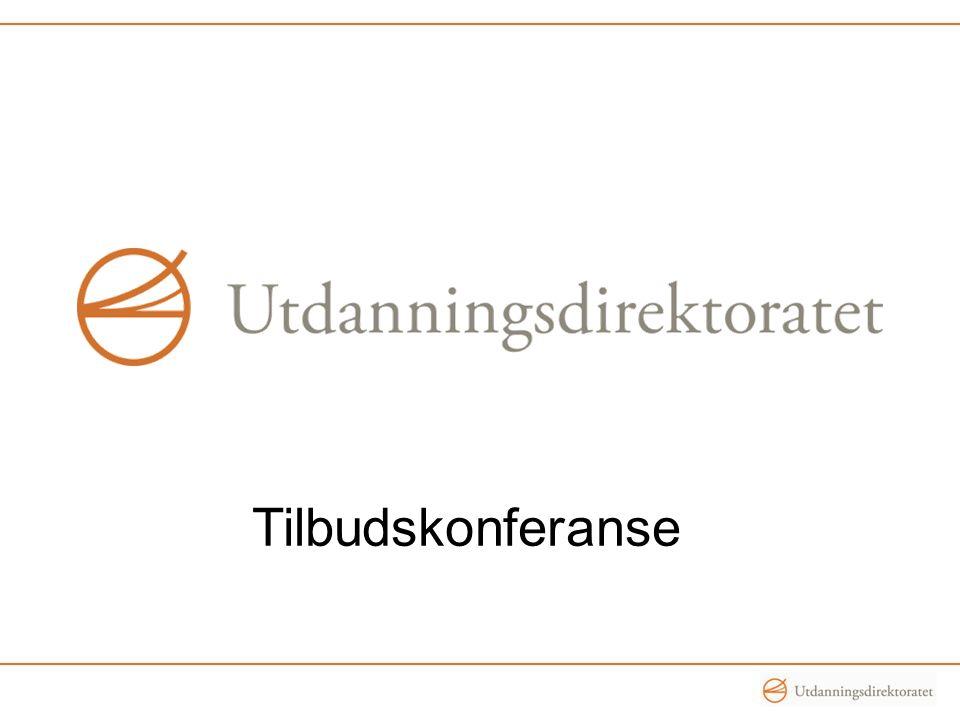 Tilbudskonferanse