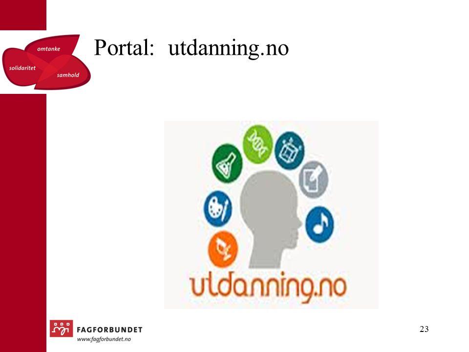 Portal: utdanning.no 23