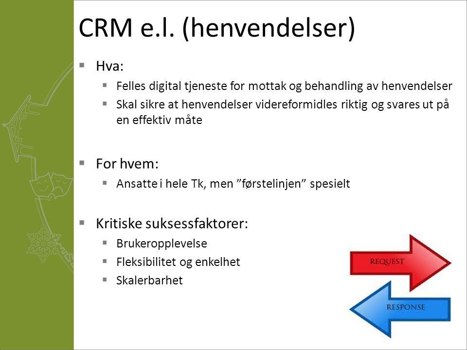 CRM e.l.