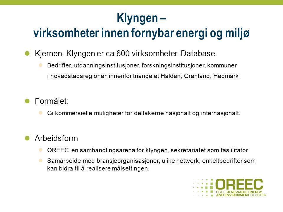Fornybar energi, Utslipp CO2 EnøkAvfall gjenv.