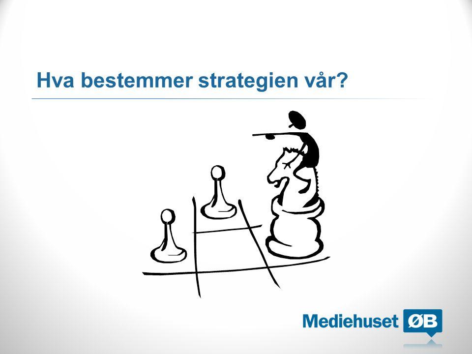 Hva bestemmer strategien vår?