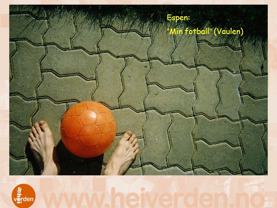 "Espen: ""Min fotball"" (Vaulen)"
