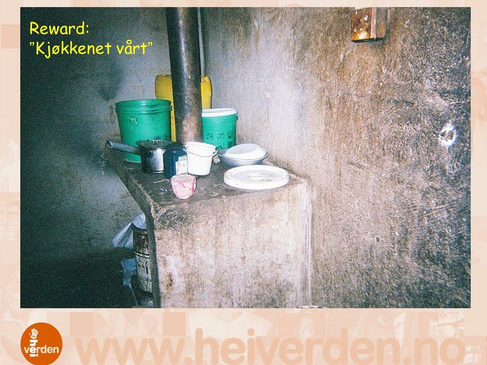Reward: Kjøkkenet vårt