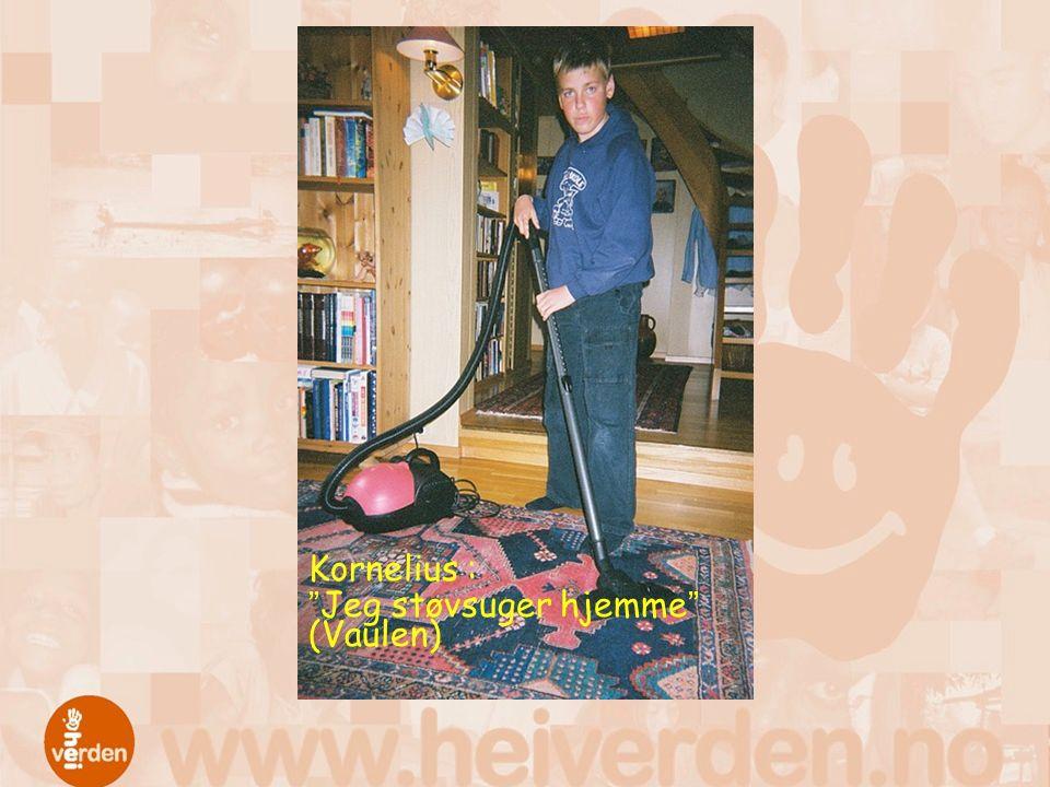 """Kornelius : """"Jeg støvsuger hjemme"""" (Vaulen)"""