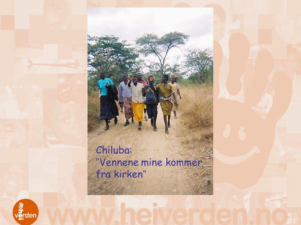 Chiluba: Vennene mine kommer fra kirken