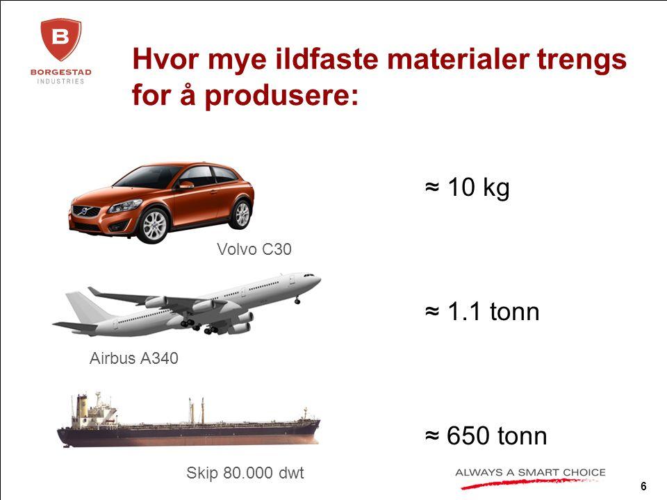 7 Bjuv fabrikken Produksjonsarealene er 54 000 m² (tilsvarer 7-8 fotballbaner) Moderne automatisert produksjon Introduksjon av miljøvennlig energi- besparende teknologi Egne råmaterialeforekomster