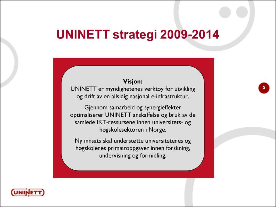2 UNINETT strategi 2009-2014