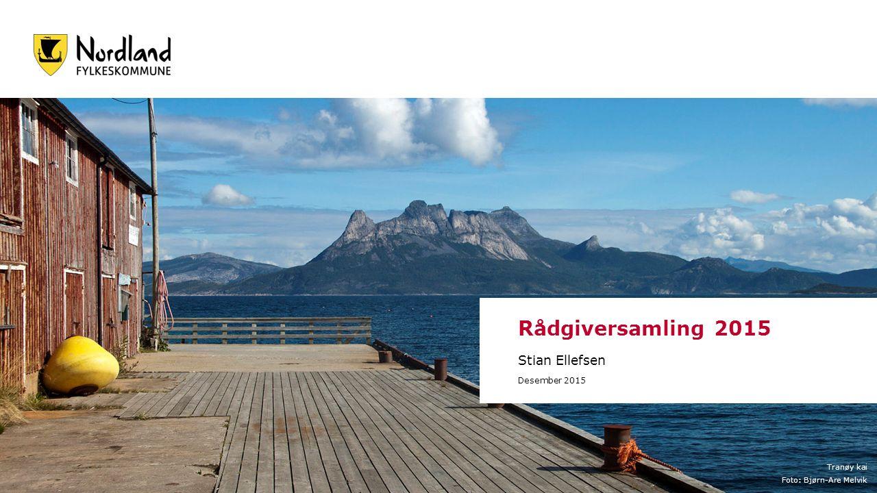 Tranøy kai Foto: Bjørn-Are Melvik Rådgiversamling 2015 Stian Ellefsen Desember 2015
