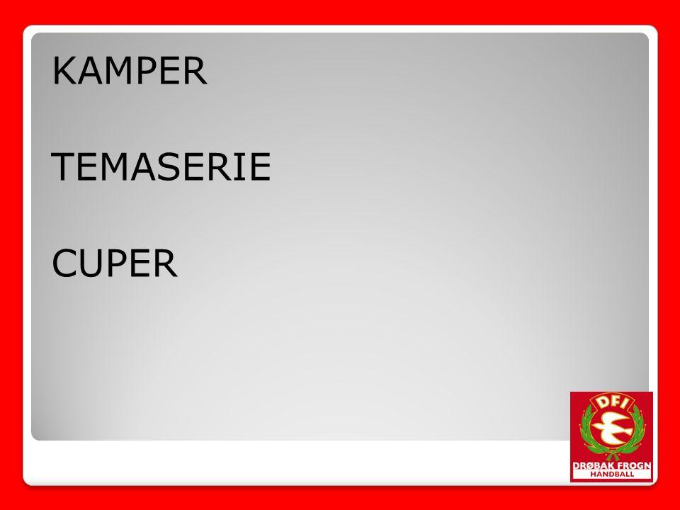 KAMPER TEMASERIE CUPER