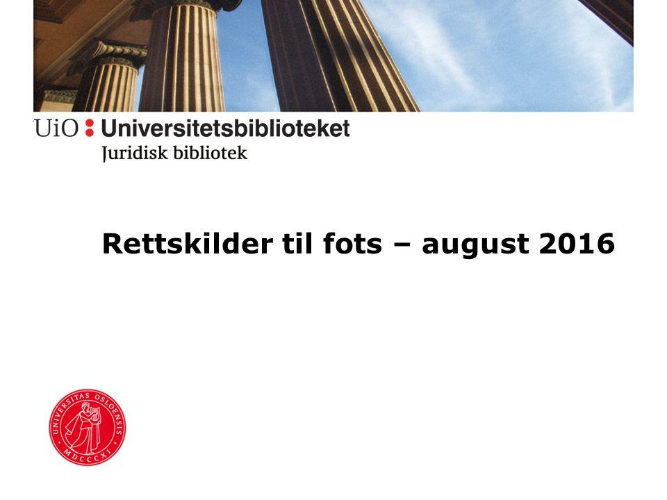 Juridisk bibliotek Nordens største jusfaglige bibliotek Hovedbibliotek i Domus Bibliotheca (1.