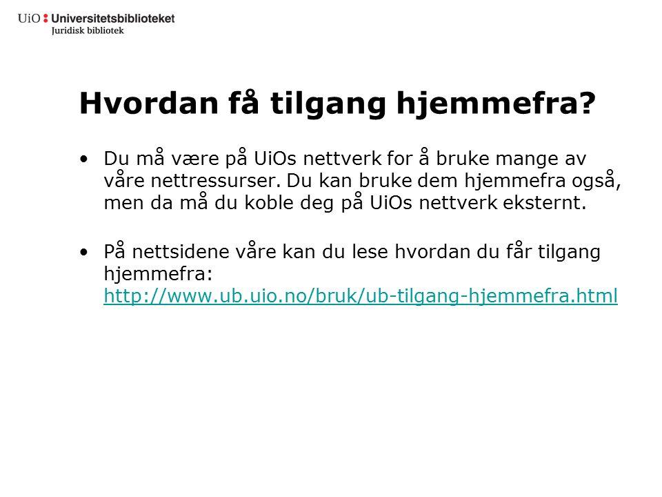 Bibliotekets nettsider Fagsidene for jus har lenker til viktige juridiske ressurser – norske og utenlandske.