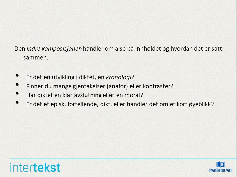 Kommenter språk og virkemidler Se kapittel 6 Hayri Er/iStockphoto