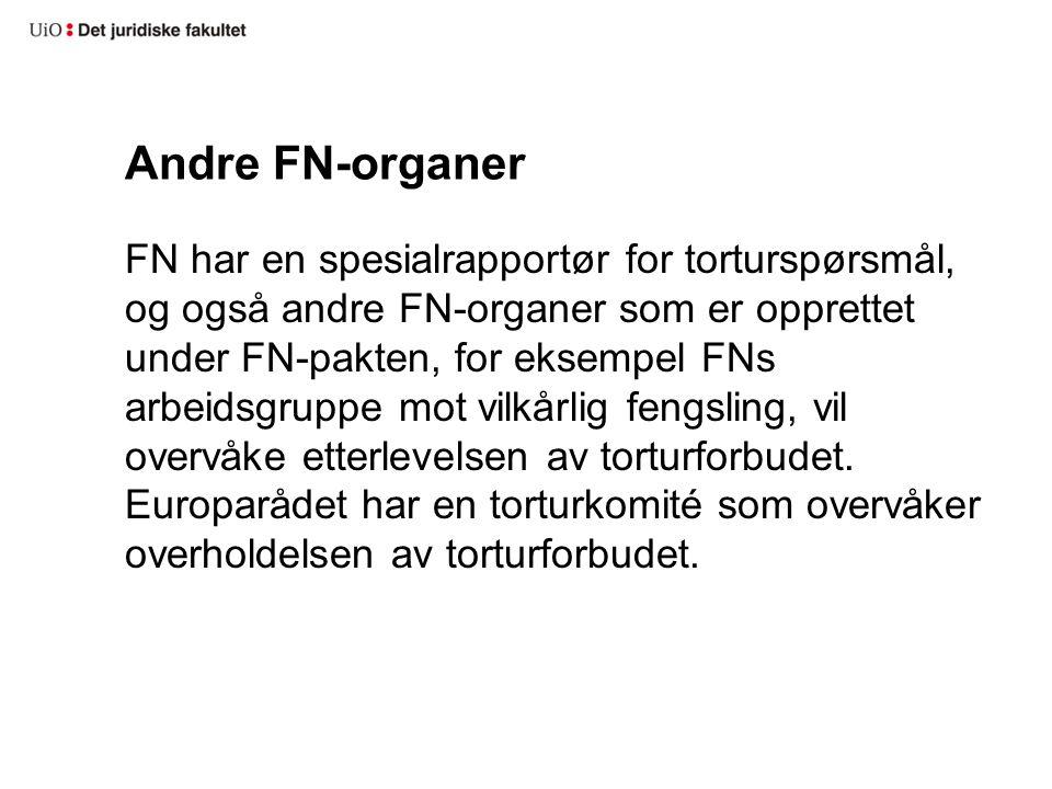 Tortur: i Norge.