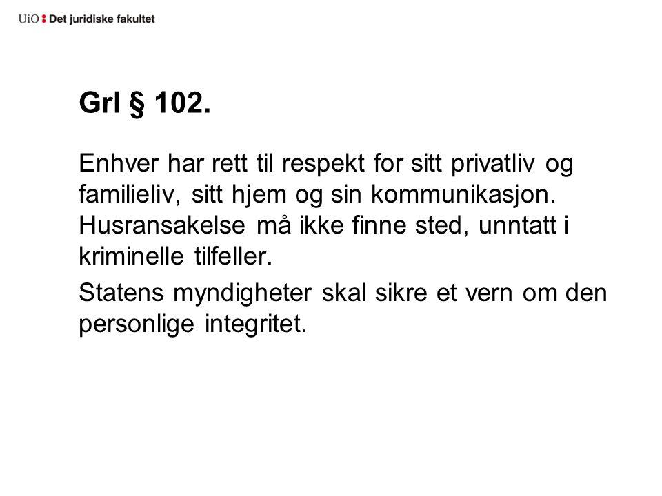Grl § 102.