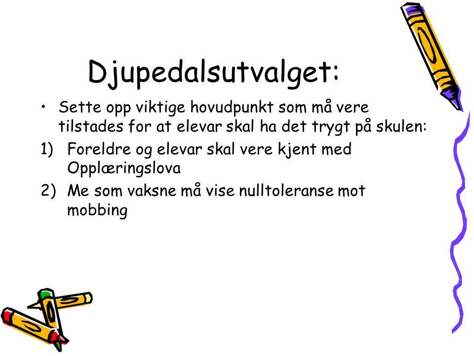 Handlingsplan for Indre Hafslo skule.