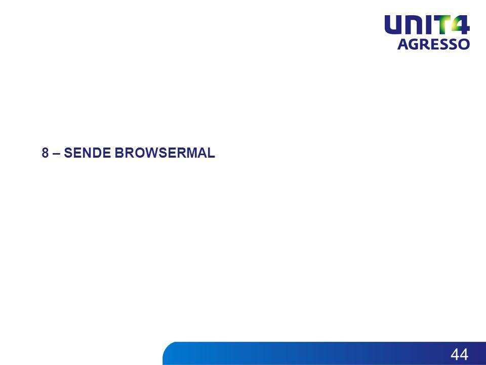 8 – SENDE BROWSERMAL 44