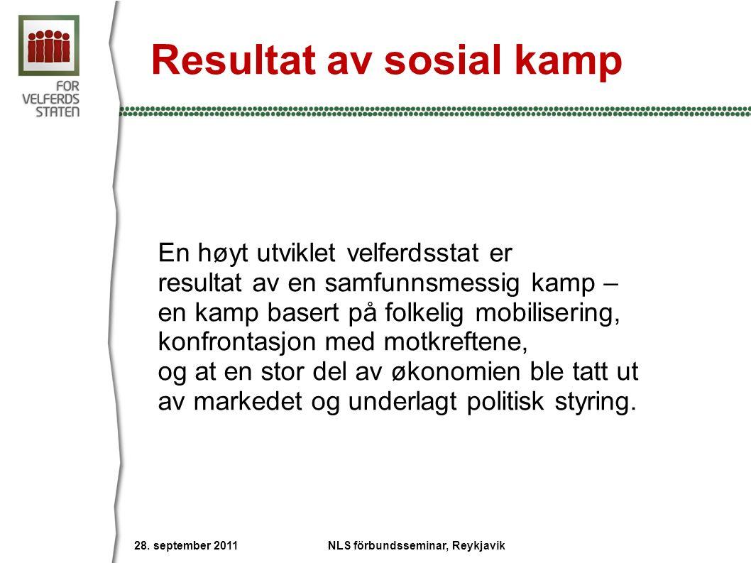 Privatiseringsbølgen Mrd $ Kilde: OECD NLS förbundsseminar, Reykjavik 28.