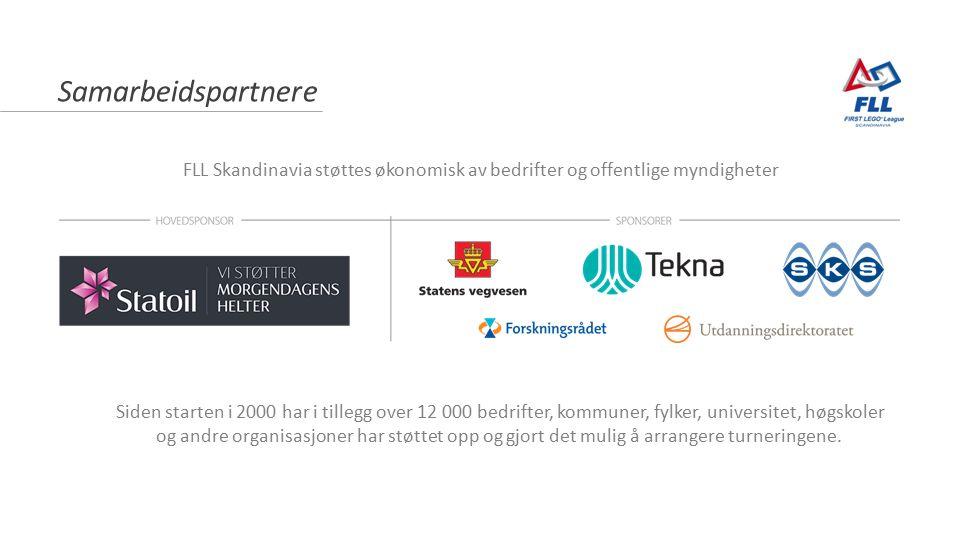 Samarbeidspartnere Siden starten i 2000 har i tillegg over 12 000 bedrifter, kommuner, fylker, universitet, høgskoler og andre organisasjoner har støt