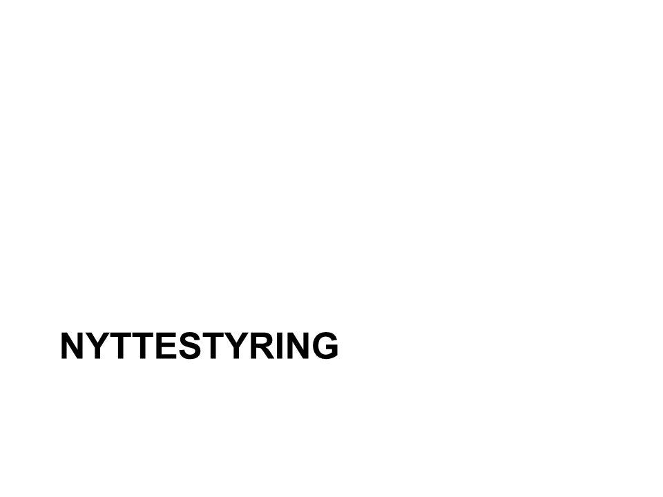 NYTTESTYRING