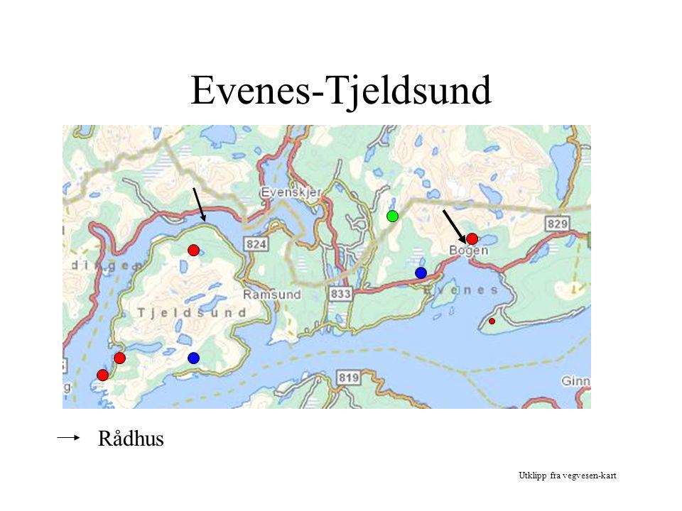 ET SAMARBEID Plan- og utviklingsavdeling Virksomhetsoverdragelse av økonomi og PLU PLU er lokalisert til Tjeldsund kommune Evaluering gjennomføres etter 1 års samarbeide