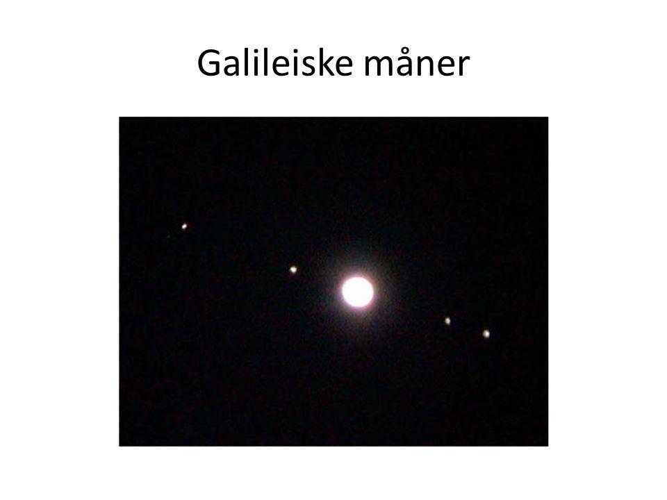 Galileiske måner