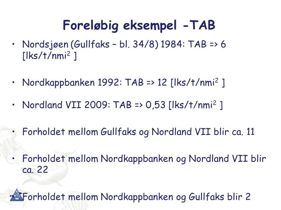 Vesterålen vs Nordkappbanken Hva er forskjellene mellom Vesterålen- og Nordkappbankeksperimentet.