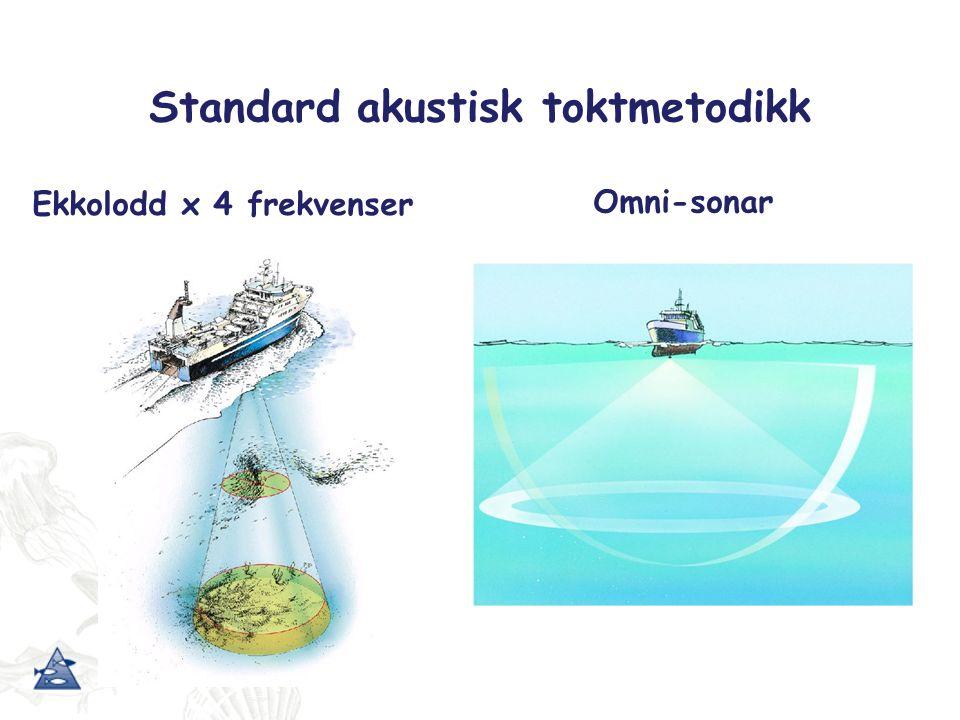 Seismikkområdet - strata 1; bunnfisk Kontrollområdet