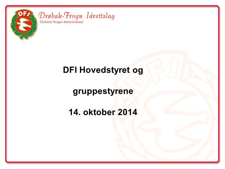 DFI Hovedstyret og gruppestyrene 14. oktober 2014