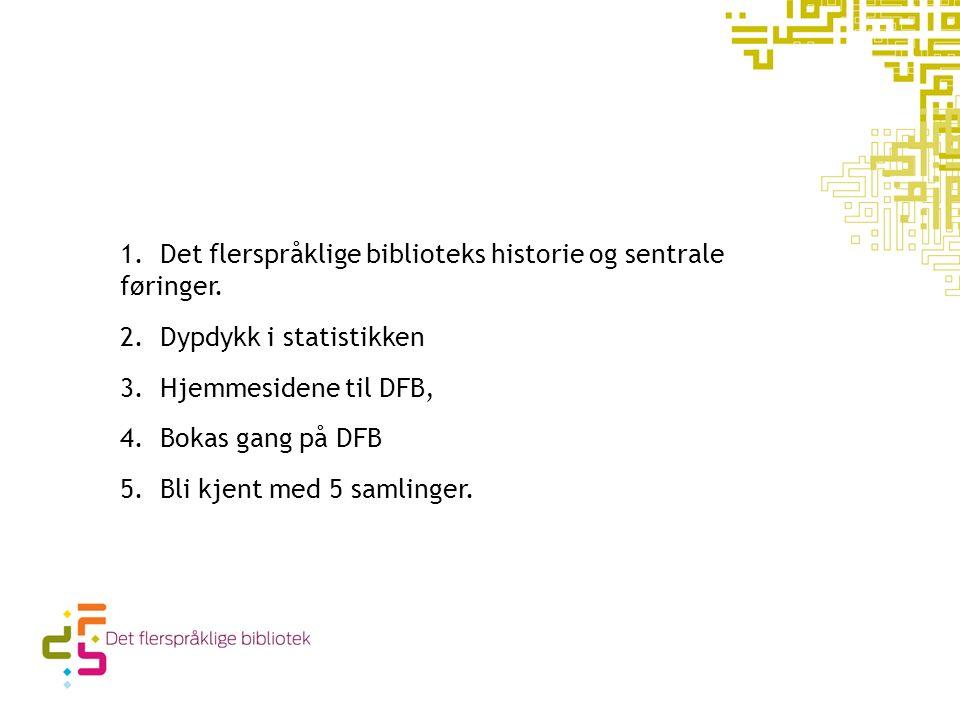 5 om dagen 1. Det flerspråklige biblioteks historie og sentrale føringer.