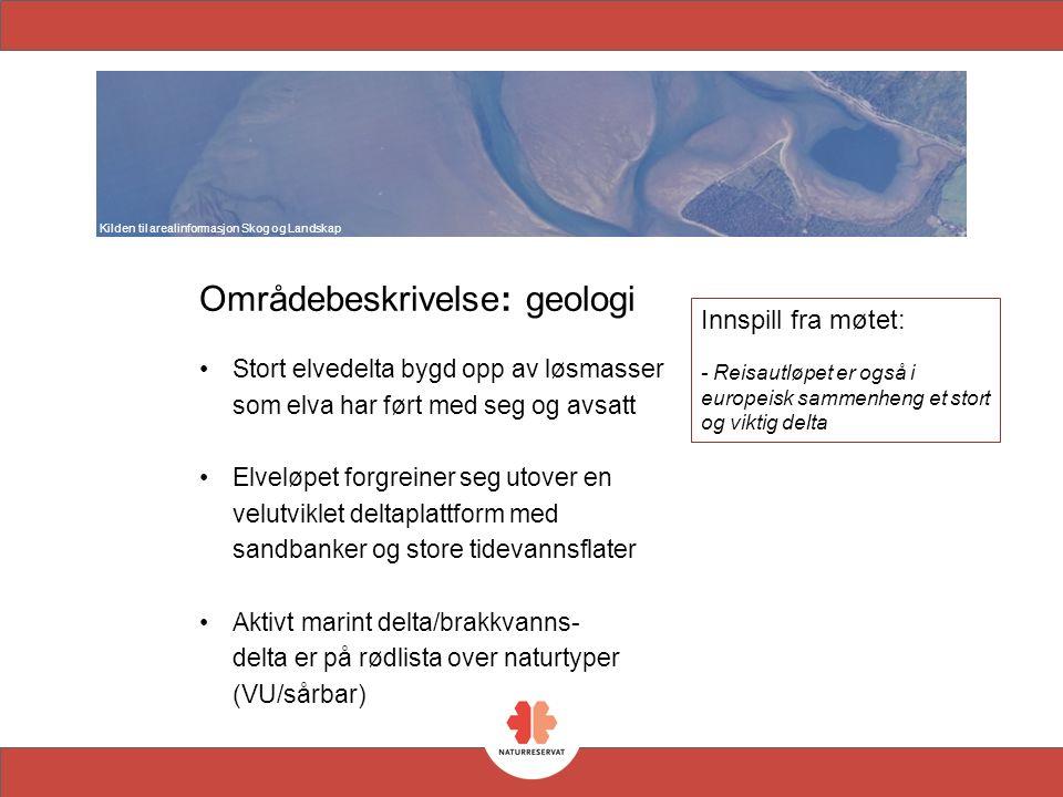 Områdebeskrivelse: botanikk Strandenger i Pollen og i Leirbukta danner til sammen et av de største strandengområdene i Nord Norge Stor variasjon i vegetasjonstyper, som saltenger, brakkvannsenger og pøler Uvanlig godt utvikla dreneringssystemer Møte mellom boreale og subarktiske arter, eneste i Troms Internasjonal verneverdi og RAMSAR område Rødlistede naturtyper og arter Strandenger er definert som slake løsmassestrender med engvegetasjon av salttolerante grasarter og urter, som regelmessig oversvømmes av sjøvann.