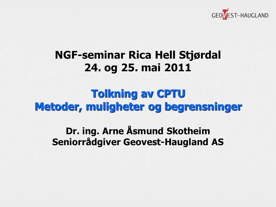 NGF-seminar Rica Hell Stjørdal 24. og 25.