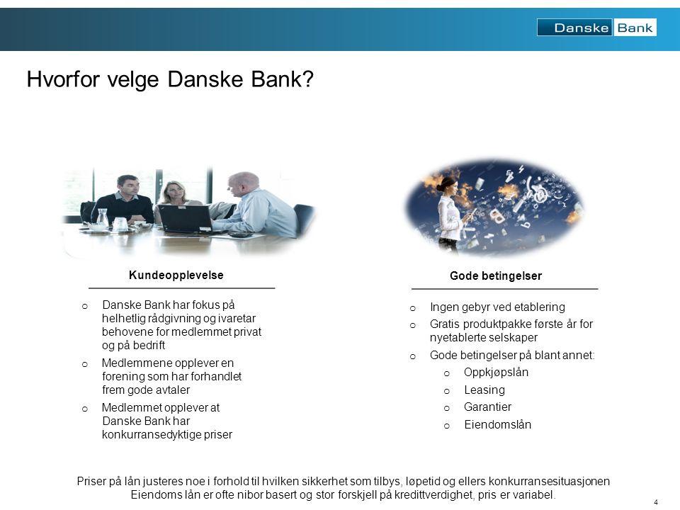 4 Hvorfor velge Danske Bank.